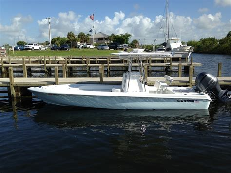 fishing boats for sale 25 ft 25 ft 2014 contender bay boat the hull truth boating