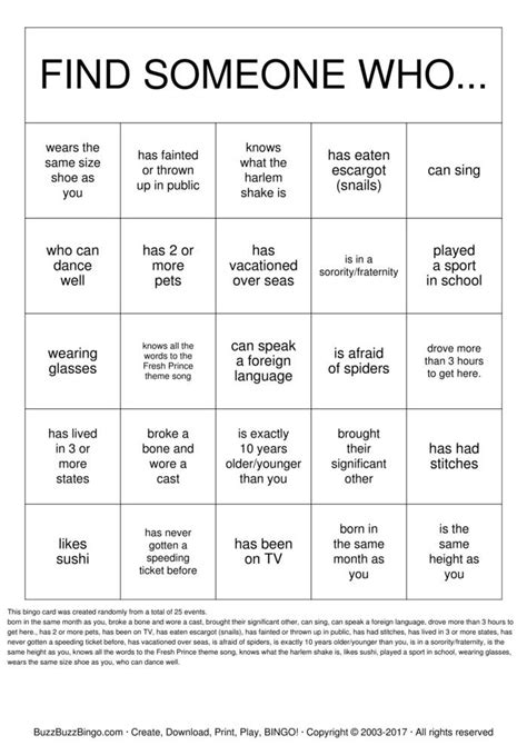 get to you bingo card template getting to you bingo cards to print and