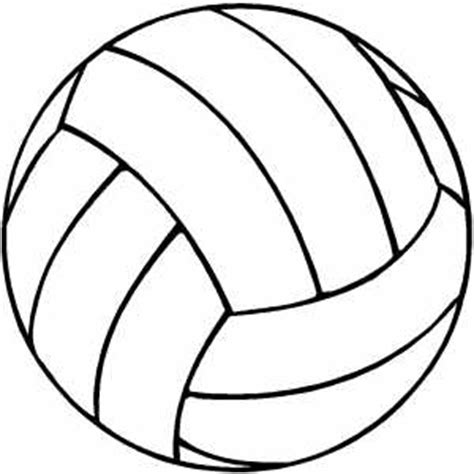 free printable volleyball pictures volleyball coloring sheet