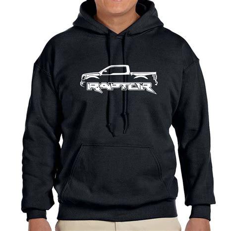 ford raptor  truck outline design hoodie