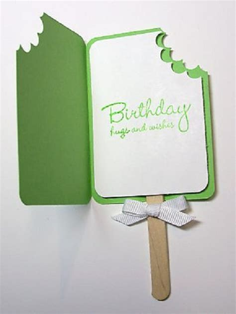 Hand Made Gift Cards - 32 handmade birthday card ideas and images