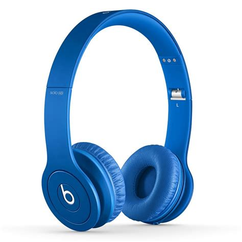 Headphone Beats Blue Beats By Dre Solo Hd 810 00014 Drenched In Color New