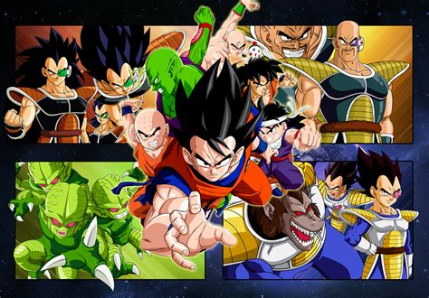 dragon ball wallpaper for ipad dragon ball z saiyan saga wallpaper for ipad cartoons