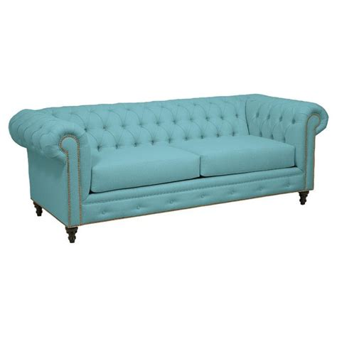 Teal Chesterfield Sofa Sofa In Teal Vibrant On Joss Furniture Turquoise