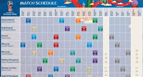 Calendario A Rusia 2018 Calendario De Partidos Mundial Rusia 2018 Fnt