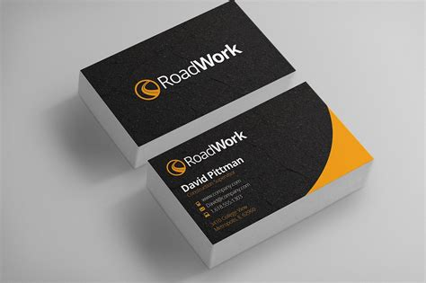 calling card template construction construction business cards template business