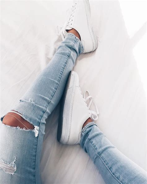 Sepatu Converse All Casual Made In White denim made out of recycled coffee grounds hellyes