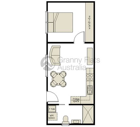 1 bedroom granny flat floor plans 1 bedroom granny flat archives granny flats australia