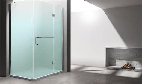 duschabtrennung milchglas duschabtrennung dusche duschkabine eckeinstieg eckdusche