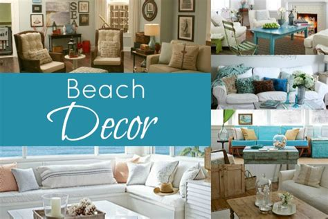 remodelaholic beach themed living room beached themed living room decor blissfully domestic