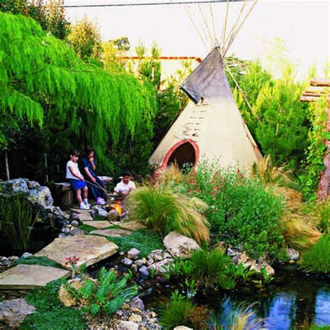 Backyard Teepee by Tepee Time In The Yard Sunset