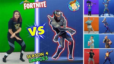 fortnite dance challenge  real life  season  danc