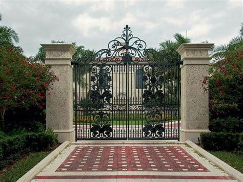 ins  outs  ornamental metal driveway gates