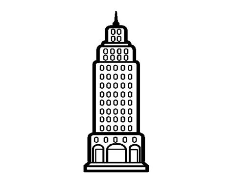 skyscraper coloring page coloringcrew com