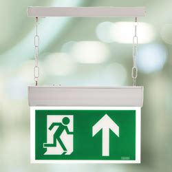 Hanelle Exit led exit sign forest emergency lighting