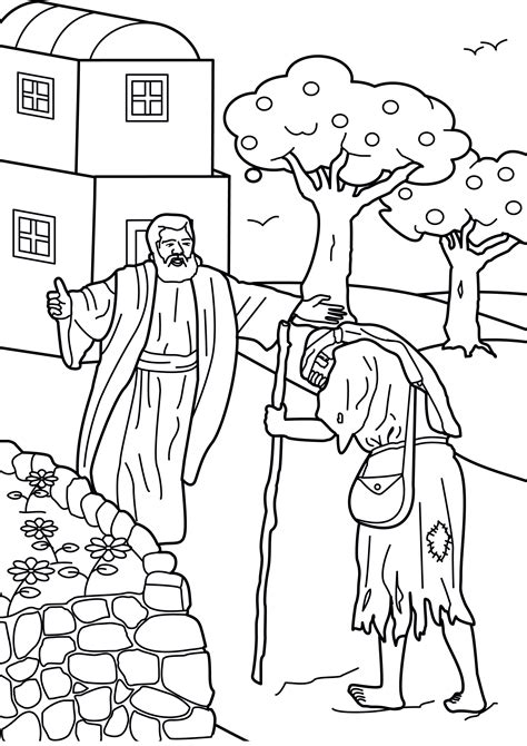 prodigal coloring page prodigal coloring pages 171 coloring