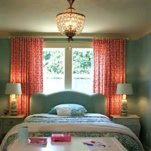Coral Bedroom Curtains Teal And Coral The Curtains Possible Bedroom Everything Teal Fabrics