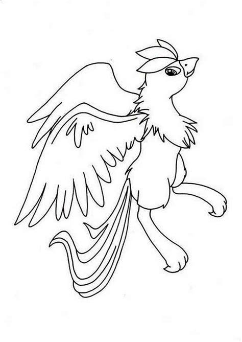 articuno coloring page articuno pokemon print images pokemon images
