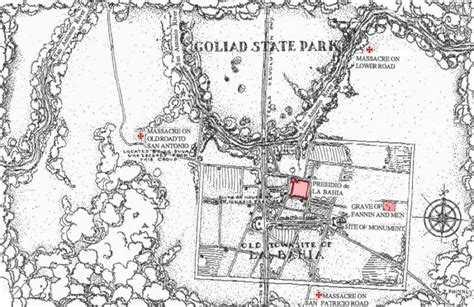where is goliad texas on the texas map surviving goliad the story of c duval save texas history medium