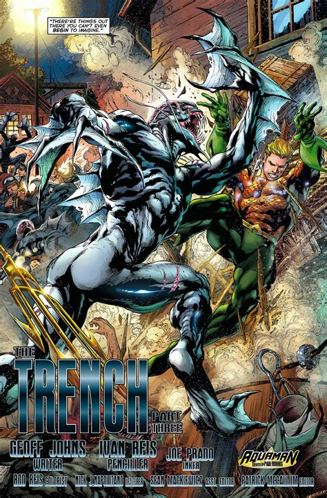 Aquaman Vol 1 The Trench The New 52 Graphic Novel Ebooke Book mera and aquaman vs the trench comicnewbies
