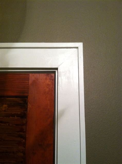 modern door casing easy door trim dream home pinterest