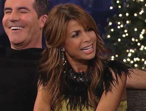 Paula Still Explaining Simon Chimes In by Simon Cowell And Paula Abdul Talk About The X Factor