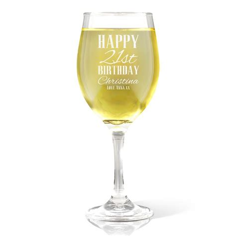 birthday drink wine classic happy birthday wine glass