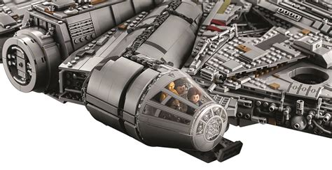 Lego Minifigure Bb 8 From Millennium Falcon lego ucs millennium falcon 2017 is the largest official