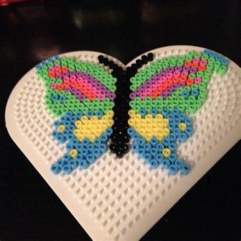 hama bead butterfly pattern butterfly hama perler by niiraz crafty sewing