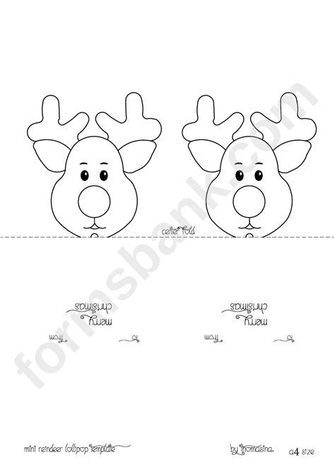 reindeer template printable reindeer template gallery template design ideas