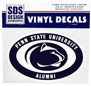 penn state alumni sticker penn state alumni 6 quot decal souvenirs gt stickers and decals gt empty