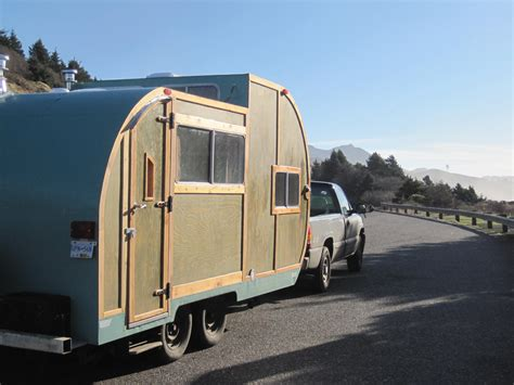 tiny home teardrop trailer
