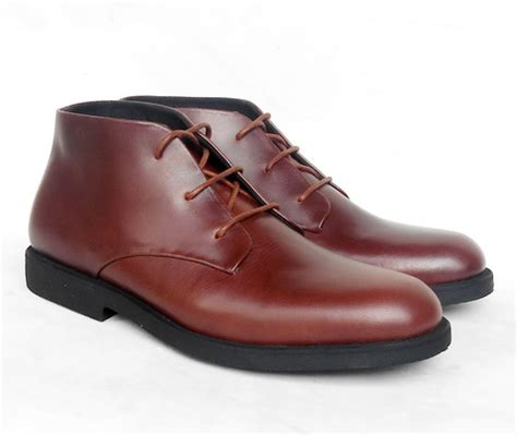 Sepatu Boots Untuk Pria jual sepatu boots casual semi formal pria premium formal