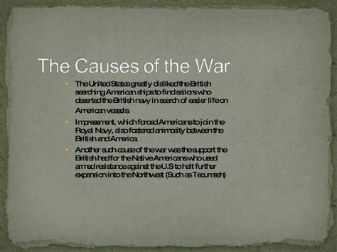 war of 1812 thesis war of 1812 essay docoments ojazlink
