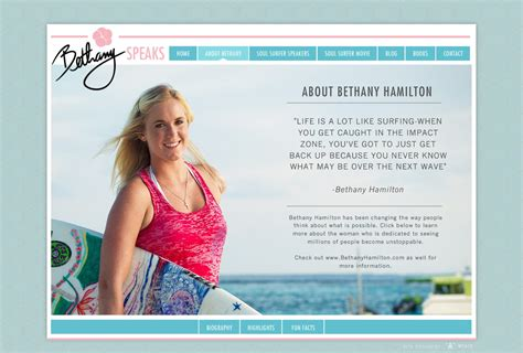 biography book on bethany hamilton bethany hamilton official speaking website about landing