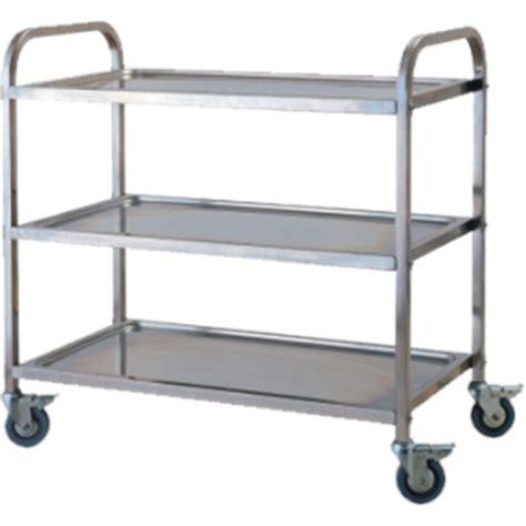 Ss 401 Stainless Steel Trolley Troli Stainless Mengantar Makanan Dll jual trolley makanan getra ss 022 murah harga spesifikasi