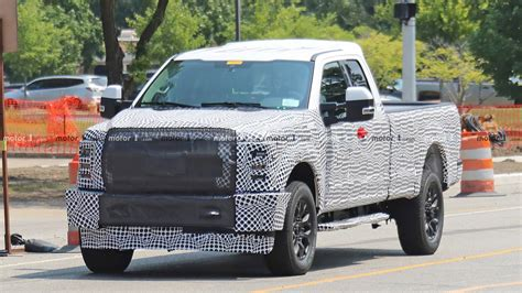Ford V10 2020 by 2020 Ford Duty Spied In A Construction Zone