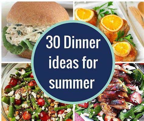 ideas for summer 30 dinner ideas for summer no ovens required a