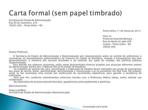 carta formal na papiamentu aula 9 como escrever cartas informais e formais ppt carregar