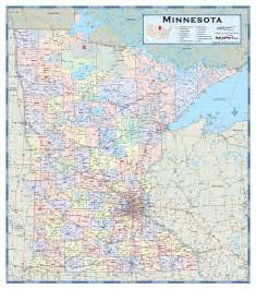 counties and cities map minnesota counties wall map maps