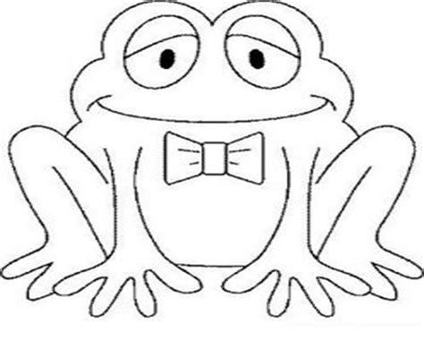 frog coloring page for preschool preschool frog coloring pages preschool best free