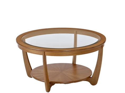 cappuccino round wood accent table with glass top ebay round coffee table glass and wood rascalartsnyc