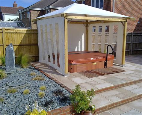 diy tub gazebo kits pergola design ideas