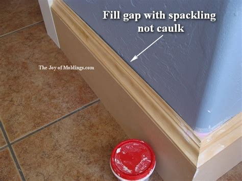 gap between outside edge of casing and wall fine how to paint diy baseboard 110 2 the joy of moldings com