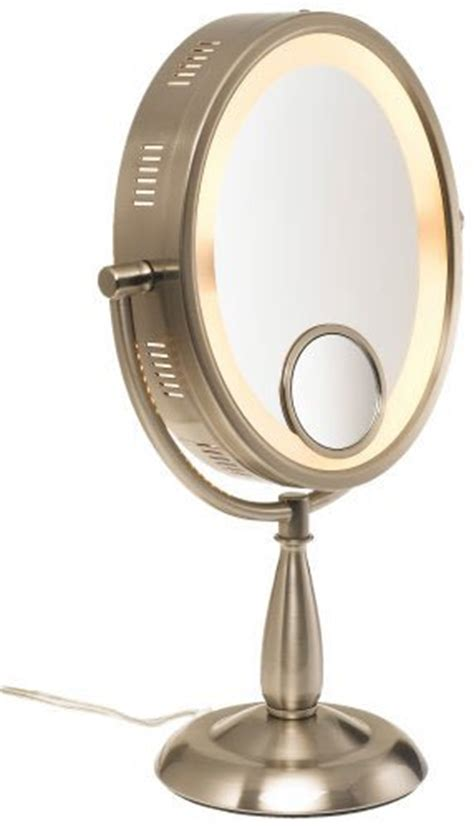 lighted magnifying makeup mirror 20x zadro 20x extreme magnification suction cup spot mirror