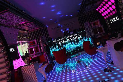 Ultra Modern Interior Design by Custom Made Retro Modern Dance Floor Applications