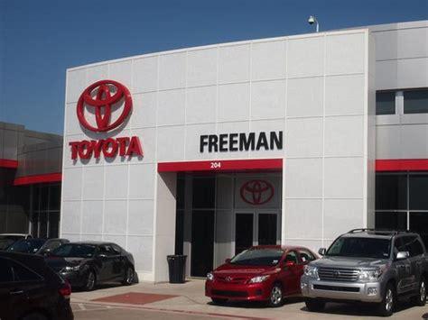 Freeman Toyota Used Cars Freeman Toyota Car Dealership In Hurst Tx 76053 7327