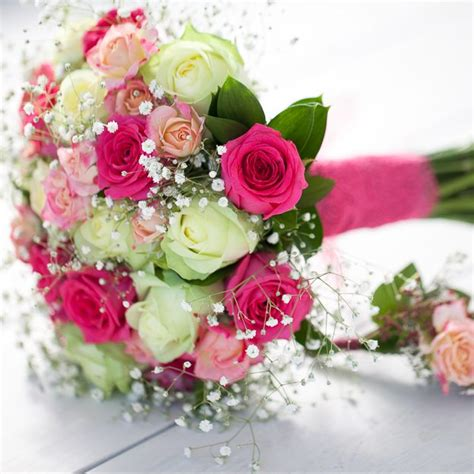 intimate bridal party flower package  harbour