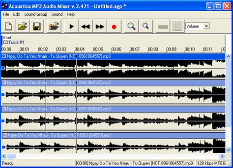 download mp3 cutter mixer free software mac osx pc win acoustica mp3 audio
