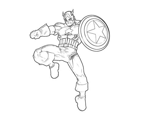 america coloring pages free coloring pages of shield captain america
